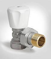 Вентиль-кран радиаторный угловой 1/2 х 1/2 дюйма KOER KR.901