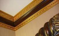 Галтели/Багеты: наклейка/шпаклевка /покраска (100мм и более)