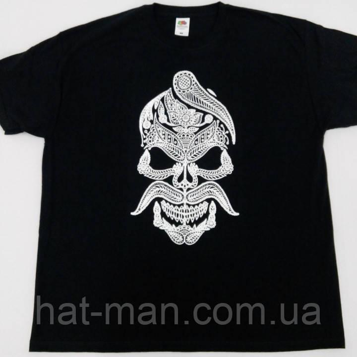 "Прикольна футболка ""Козак череп"""