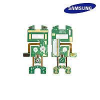 Шлейф для Samsung Z130, межплатный, с компонентами (оригинал)