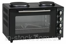 Электродуховка с плитой Adler AD 6011