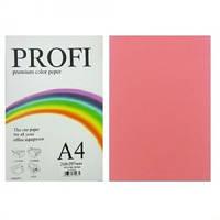 "Бумага цветная ""PROFI"" А4. 80г неон розовый CYBER HP PINK 100 листов"