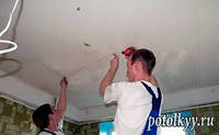 Дефектовка потолка