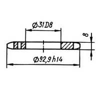 5.02-06-06  Звездочка КШП-5 (погрузчик Р6-КШП-6) z=17, t=15.875