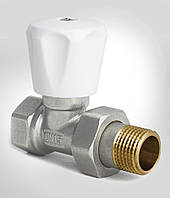Вентиль-кран радиаторный прямой 1/2 х 1/2 дюйма KOER KR.903