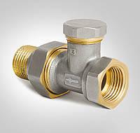 Вентиль-кран радиаторный прямой 1/2 х 1/2 дюйма KOER KR.904