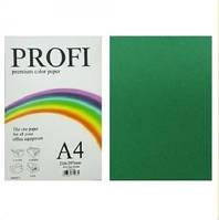 """Бумага цветная """"PROFI"""" А4. 80г  интенсивный зеленый ASPARAGUS"""
