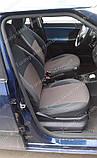 Чехлы на сиденья Шкода Фабия МК 2 (чехлы из экокожи Skoda Fabia Mk2 стиль Premium), фото 2