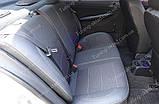 Чехлы на сиденья Шкода Фабия МК 2 (чехлы из экокожи Skoda Fabia Mk2 стиль Premium), фото 4