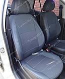 Чехлы на сиденья Шкода Фабия МК 2 (чехлы из экокожи Skoda Fabia Mk2 стиль Premium), фото 5