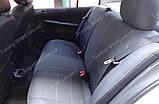 Чехлы на сиденья Шкода Фабия МК 2 (чехлы из экокожи Skoda Fabia Mk2 стиль Premium), фото 7