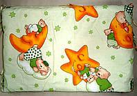 Защитное ограждение  в кроватку для новорожденных