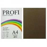 """Бумага цветная """"PROFI"""" А4. 80г  коричневый CHOCOLATE"""