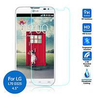 Защитное стекло ProGlass 0,26mm (2,5D) для LG L70 D325, фото 1