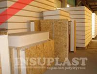 СИП панель 120мм Insuplast - ПСБ-С-25 для внешних и внутренних стен, крыши (Standart 120 2800x1250)