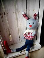 """""""Модный"""" заяц мягкая игрушка"""