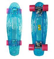 Пенни Борд (Penny Board) со светящей декой Light Penny 22