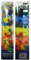 Краски пальчиковые 5 цветов по 30 мл + штампы