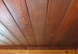 Шлифовка, лакировка деревянной вагонки (потолок)