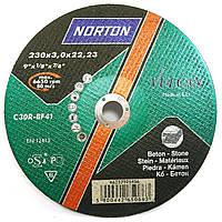 Круг отрезной по камню и бетону Norton Vulcan 230х3.0х22.2