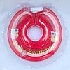 Круг для купания младенцев красный с погремушками  Baby swimmer 3-12кг