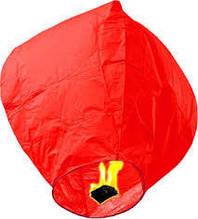 Небесный фонарик купол красный 105см большой