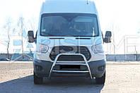 Кенгурятник Кенгур Передняя защита Ford Transit с 2014