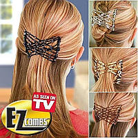 Заколка для волос Easy Comb EZ Combs Изи Коум, чудо заколка для волос EZ Combs Изи Коум