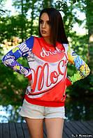 Свитшот Coca-Cola а-3018