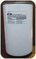 Баночный масляный фильтр удлинённый сетчатый  G=1`1/4, (100//205)l/min, 125mic