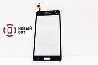 Тачскрин (Сенсор дисплея) Samsung G531H DS Grand Prime VE темно-серый H/C