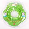 Круг для купания младенцев  Baby Swimmer салатовый 3-12кг