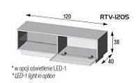 Тумба под твHalmar Livo RTV-120S