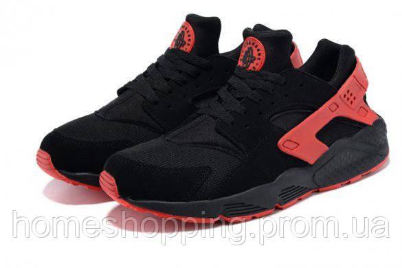 "Мужские кроссовки Nike Air Huarache ""Black/Red"""