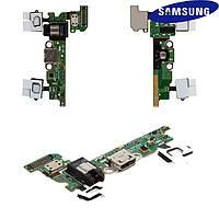 Шлейф для Samsung A3 A300F / A300FU, коннектора зарядки, наушников, микрофона, (REV 0.0), оригинал