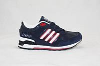 Кроссовки детские/подростковые Adidas ZX700 темно-синие (р-р 31-36)