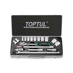 Универсальный набор инструмента TOPTUL 1/2 18ед. (12-гр.) GCAD1804
