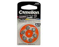 Батарейки воздушно-цинковые Camelion A13