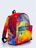 Яркий городской рюкзак с модным принтом Colorful