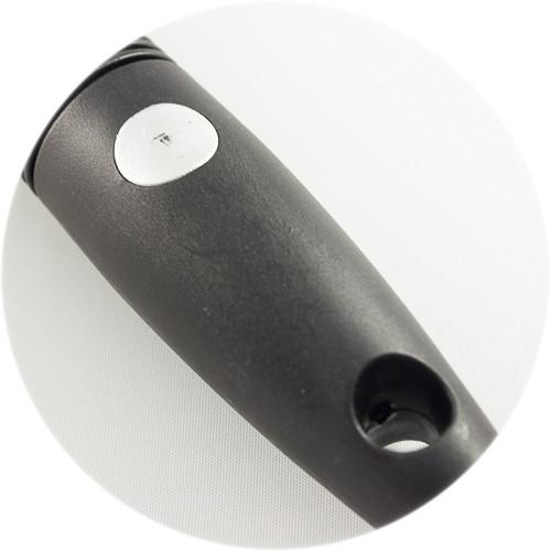 расческа масажка с пластиковыми зубьями, серого цвета  Dagg от FreD-ShoP
