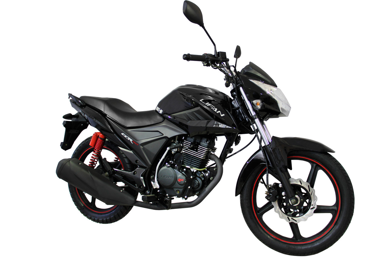 Мотоцикл Lifan LF150-2E Черный, фото 1