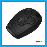 Корпус ключа зажигания на Renault Kangoo 3 кнопки RKM103