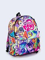 Городской рюкзак My Little Pony с ярким 3D-принтом.