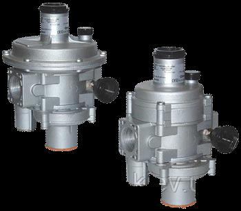 Регулятор давления газа MADAS (Италия) FRG/2MBCZ и FRG/2MBZ