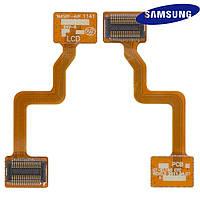 Шлейф для Samsung E1190 / E1195, межплатный, с компонентами, оригинал