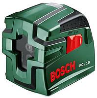 Лазерный уровень BOSCH PCL 10 самовыравнивающийся