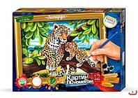 "Danko Toys Картина по номерам ""Леопард"" арт. KN-01-03"