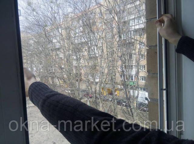 Антимоскитная сетка коричневая заказать Дарницкий район