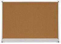Доска пробковая 120х180 см, алюм.рамка C-Line, 2х3