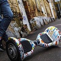 """Гироскутер Внедорожник Allroad 10"""" гироплатформа Smart Way (смартвей, мини сигвей, гироцикл графити)"""
